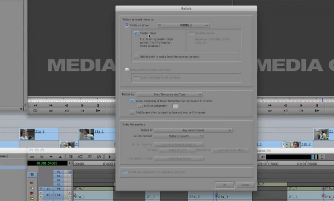 Get your FCP Project and Media into Avid without any transcoding via Automatic Duck and Avid AMA