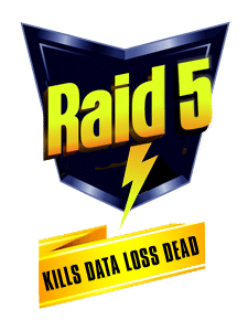 RAID5 - Kills Data Loss Dead