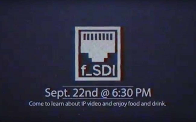 F_SDI - Join the #IPrevolution with Newtek (Jump to 9:50)