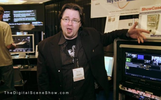 Michael Kammes from Key Code Media about editing systems @ HD Expo 2009