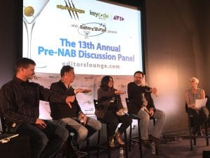 Editor's Lounge 2016 - Pre NAB Panel