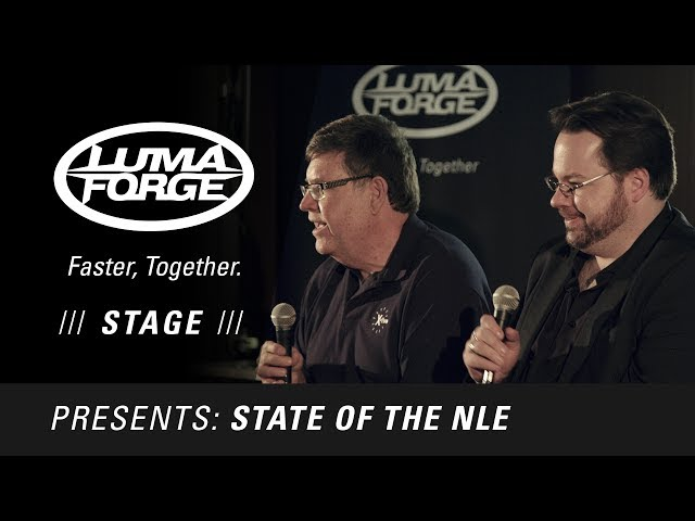 State of the NLE, a panel discussion by Lumaforge, at NAB 2017