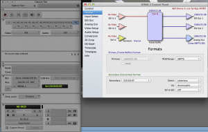Open I/O in Media Composer 6: AJA Kona 3 and it's Control Panel